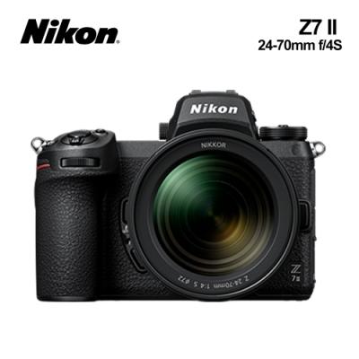 Nikon尼康 Z7II + 24-70mm f/4 S 全幅單眼相機 (國祥公司貨)