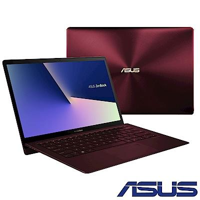 ASUS UX391UA 13吋筆電 (i7-8550U/16G/Win10/紅
