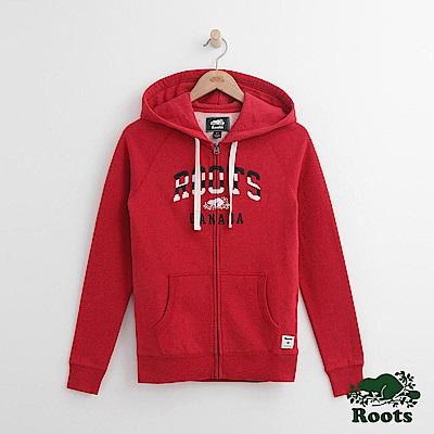 Roots 女裝- 朱爾斯連帽外套- 紅