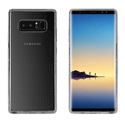 Metal-Slim Samsung Galaxy Note 8 時尚超薄TPU軟殼