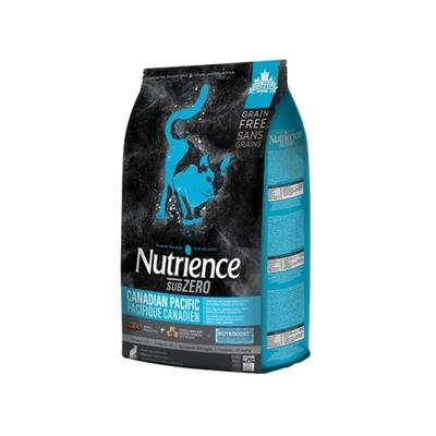 【2入組】Nutrience紐崔斯SUBZERO黑鑽頂極無穀貓+凍乾(七種魚) 2.27kg(5lbs) 送全家禮卷50元*1張 (購買第二件贈送寵鮮食零食1包)