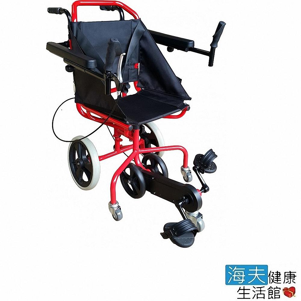 海夫健康生活館 杏華機械式輪椅(未滅菌) 踏踏Me 復健型 輪椅 (OP-PW1-2RD)