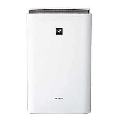 【福利品】SHARP夏普自動除菌離子空氣清淨機FU-D80T/W(白)