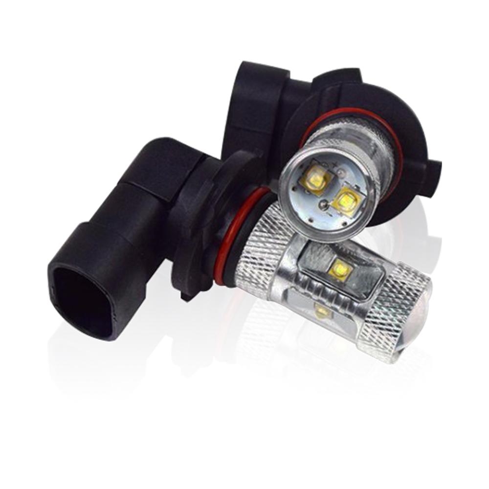 車的LED 9006 魚眼 6LED 白光 30W(雙入組)