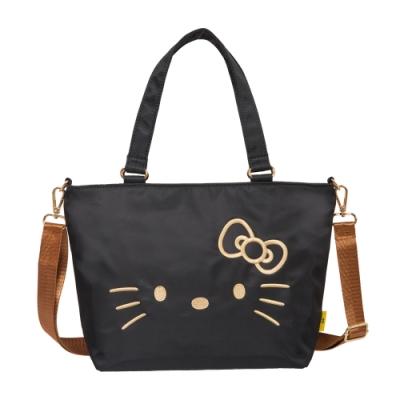 【Hello Kitty】經典凱蒂-兩用手提包-黑 FPKT0D002BK