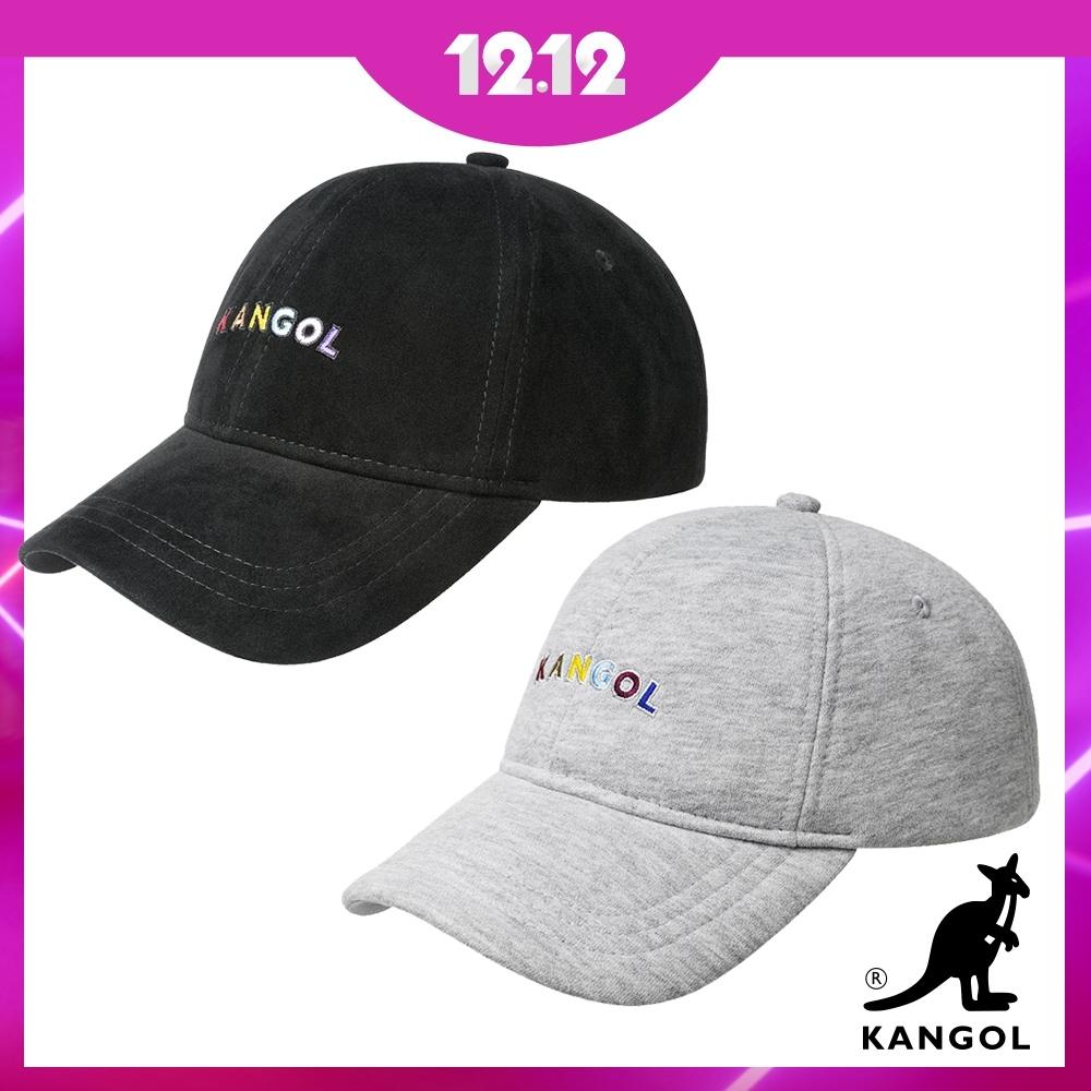 [時時樂]網路熱搜~KANGOL彩色字棒球帽-黑.灰