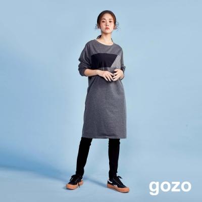 gozo 趣味後印花彈性休閒褲(二色)