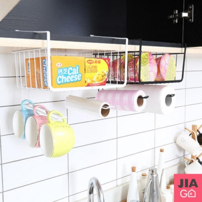 JIAGO 鐵藝櫥櫃隔板收納架