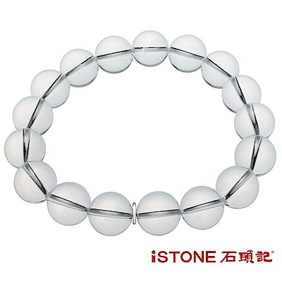 石頭記 白水晶手鍊-品牌經典-12mm