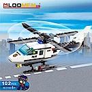 親親寶貝 高質感豪華益智玩具積木_警察直升機培養專注力與創造力的優質玩具