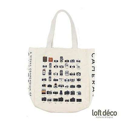 Loft Deco   Camera   復古棉籽帆布袋