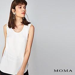MOMA 優雅雪紡無袖上衣