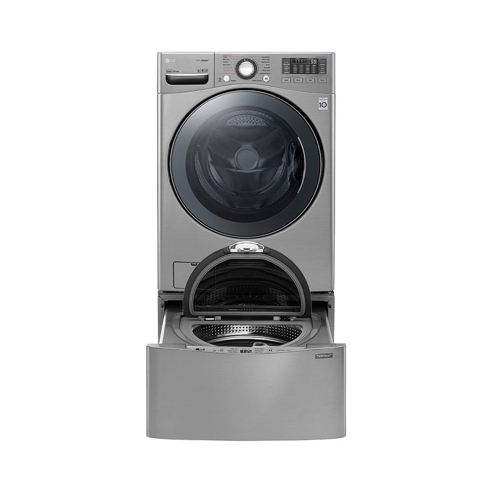 LG 樂金 18+2.5公斤雙能洗蒸洗脫烘(典雅銀)WD-S18VCD TWINWash