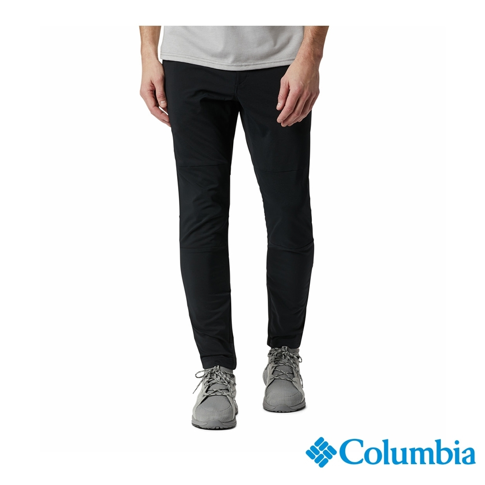Columbia 哥倫比亞 男款-UPF50 防潑長褲-灰色 UAM06730