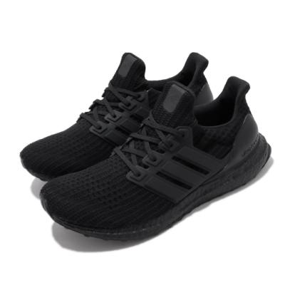 adidas 慢跑鞋 UltraBOOST 運動 男女鞋 愛迪達 路跑 緩震 輕量 透氣 情侶穿搭 黑 FW5712