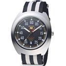 SEIKO 精工五號帆布限量機械錶(SRPA93J1)