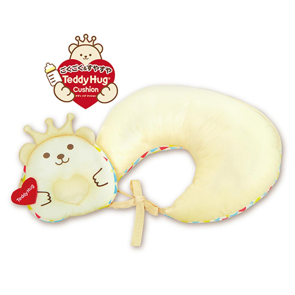日本People-Teddy Hug安心授乳枕組合(授乳枕+幼兒凹枕)