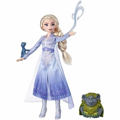 迪士尼公主系列 - 冰雪奇緣2 公主與陪伴配件組(艾莎)