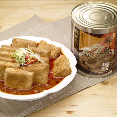 台灣在地ㄟ尚好-麻辣臭豆腐多多2罐組(2900g/罐)