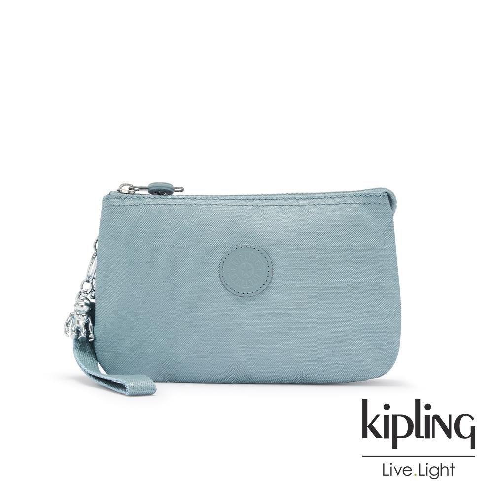 Kipling 寧靜海洋藍多層配件包-CREATIVITY XL