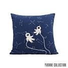 Yvonne Collection 星空抱枕(60x60cm)-藍