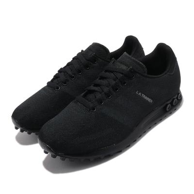 adidas 休閒鞋 LA Trainer Weave 男鞋 海外限定 愛迪達 舒適 簡約 穿搭 全黑 S78340