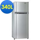 聲寶340L經典品味雙門冰箱SR-L34G(S2)