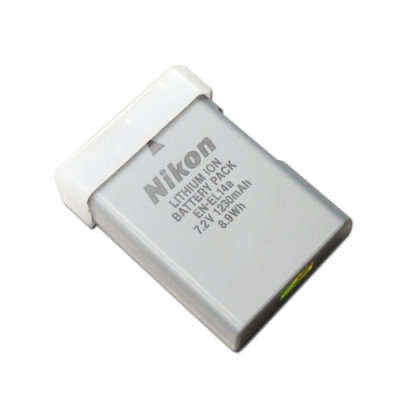 尼康 Nikon EN-EL14a / ENEL14a 相機專用原廠電池 (平輸密封包裝)