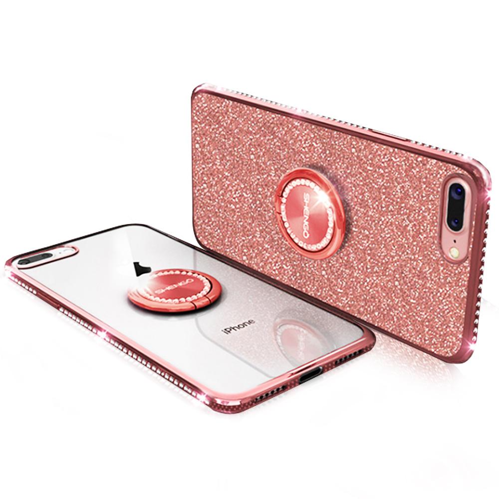 iStyle iPhone 7/8 plus 5.5吋 輕奢鑽石手機殼
