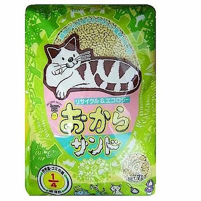 用量超省超經濟日本豆腐砂 7L*2包+貓砂鏟1支(顏色隨機)
