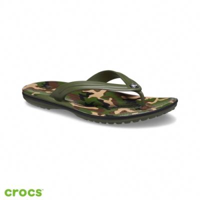 Crocs 卡駱馳 (中性鞋) 卡駱班印花人字拖-205943-30Q