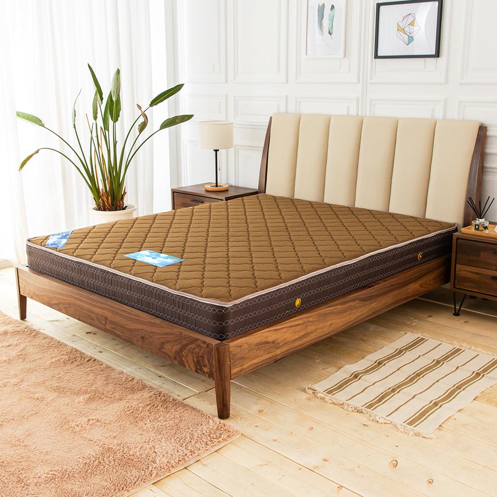 時尚屋 歐格登3D立體硬式3.5尺加大單人獨立筒彈簧床墊