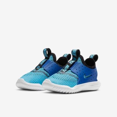 NIKE 童鞋 慢跑 緩震 輕量 套腳 小童 運動鞋 藍 CV9329400 FLEX RUNNER BREATHE TD