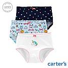 Carter's台灣總代理 夢幻獨角獸3件組三角褲