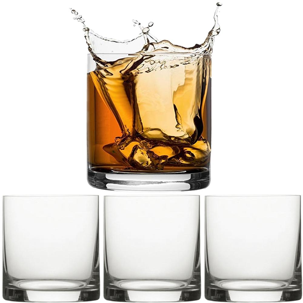《CreativeTops》經典威士忌杯4入(443ml)