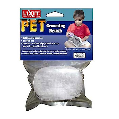 金德恩 美國製造 LIXIT 寵物專用一體成型清潔刷毛器
