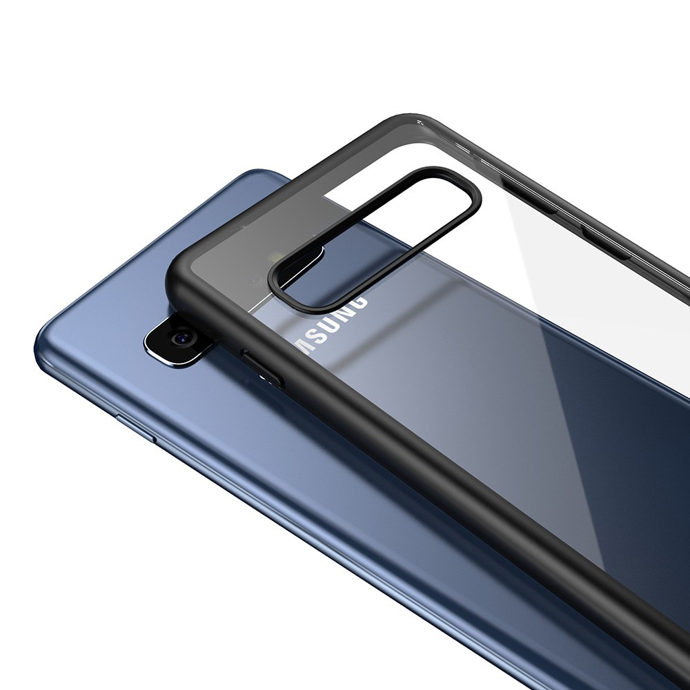 透明殼專家Samsung S10 防撞邊框 抗刮背蓋殼