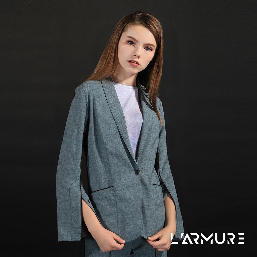 L'ARMURE 女裝 ECO-lor 女士 西裝外套 藍綠色
