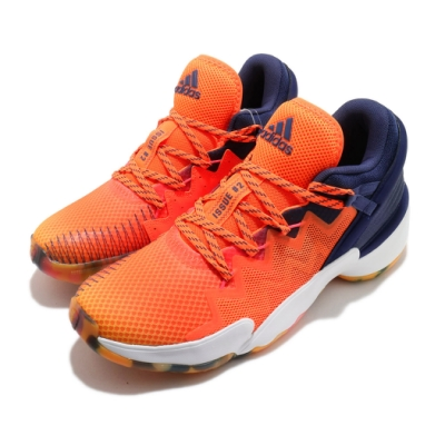 adidas 籃球鞋 DON Issue 2 GCA 男鞋 愛迪達 Donovan Mitchell 黑 橘 FW9036