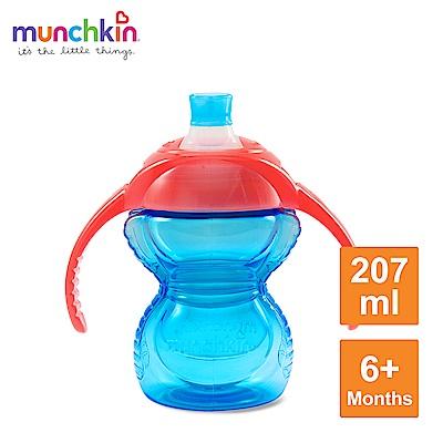munchkin滿趣健-貼心鎖鴨嘴防漏練習杯207ml-多色