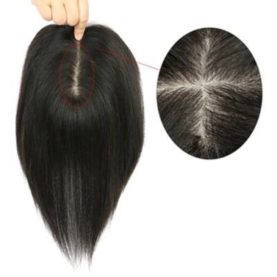 米蘭精品 假髮片真髮絲-25cm補髮片自然逼真女假髮母親節禮物73us8