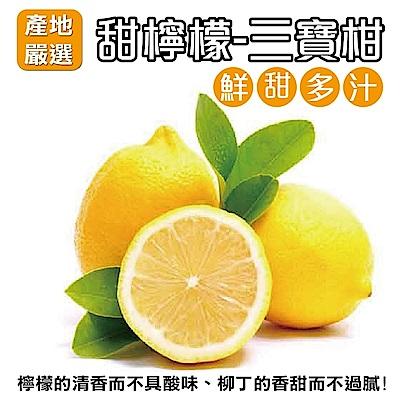 【天天果園】三寶柑甜檸檬桶柑 x3斤