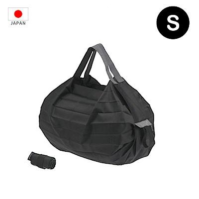 【日本Marna】Shupatto 秒收摺疊環保袋 (S) | 黑