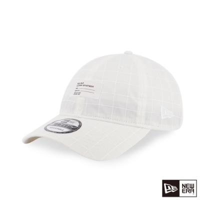 NEW ERA 9FORTY 940UNST 反光布料 白 棒球帽