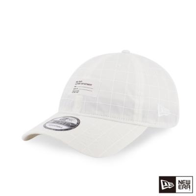 NEW ERA 9FORTY 940UNST 反光布料 白 棒球帽