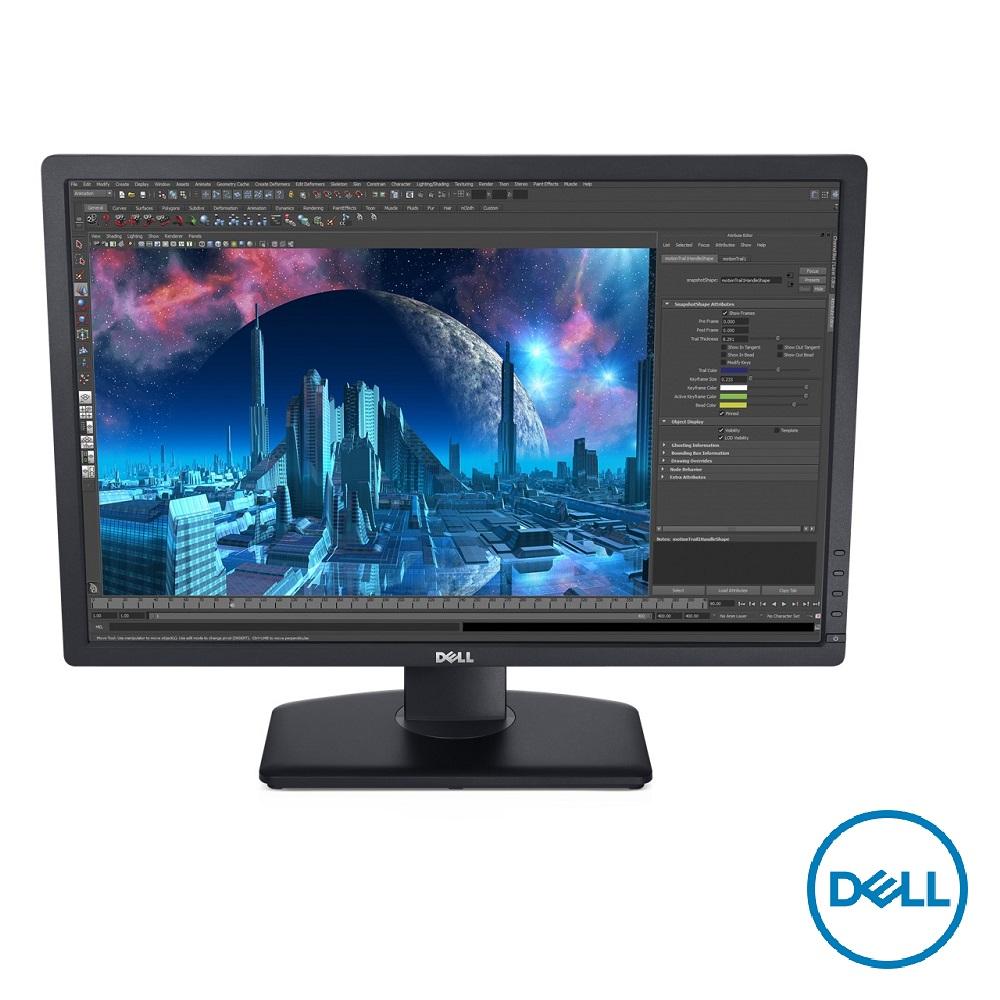 DELL U2412M 24型 IPS 可旋轉電腦螢幕