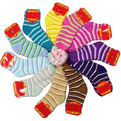 MIT 抗寒暖冬羽毛絨暖暖襪12雙