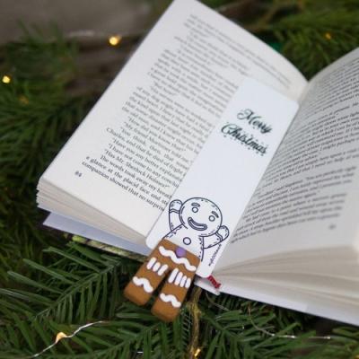 烏克蘭myBookmark-愛玩躲貓貓的薑餅人