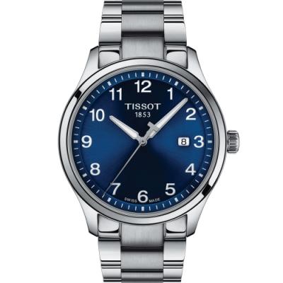 TISSOT天梭GENT XL CLASSIC 經典大三針男錶(T1164101104700)