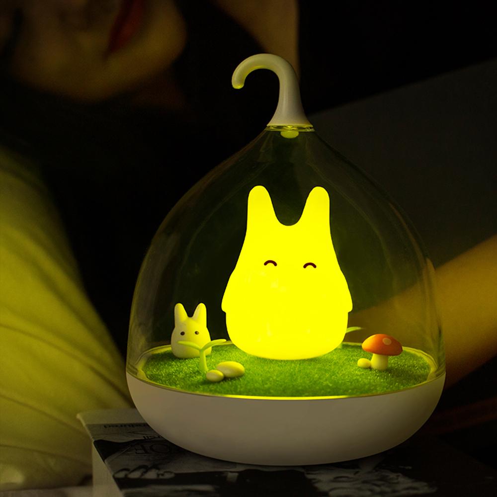 半島良品 微景觀精靈小夜燈-快樂黃